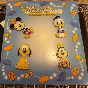 Disney Mickey and Friends Long Neck Booster Pins